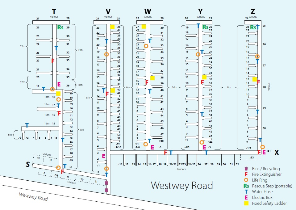 Westwey Road Pontoon Plan