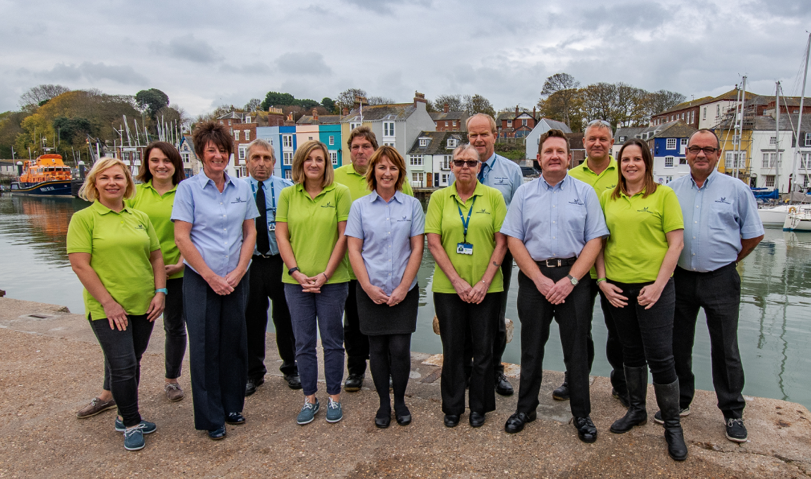 Weymouth Harbour Team Photo