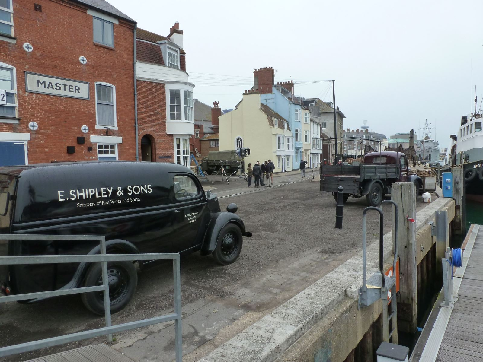Dunkirk filming Weymouth Harbour
