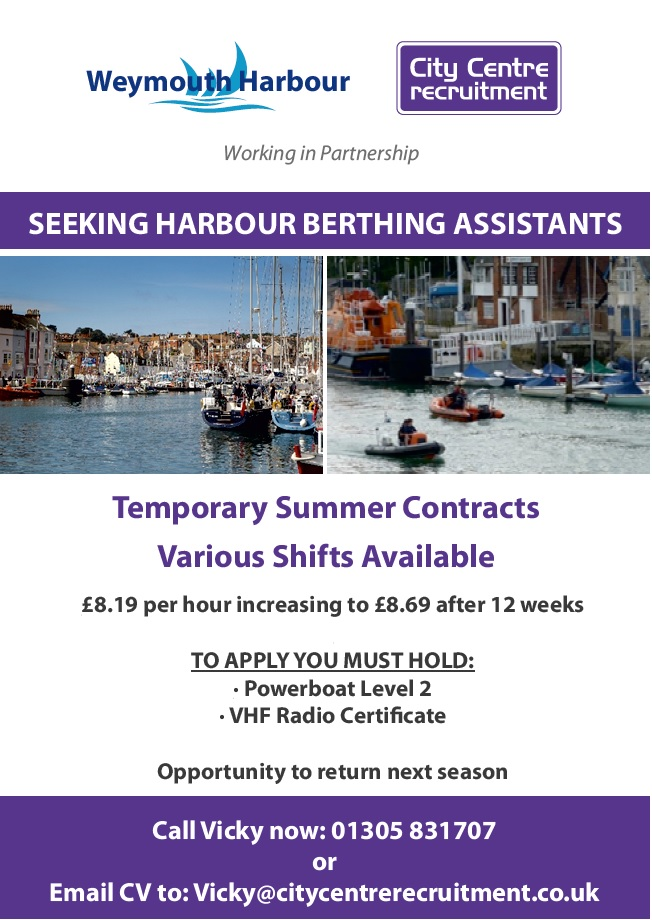 Harbour Berthing Assistant Opportunities