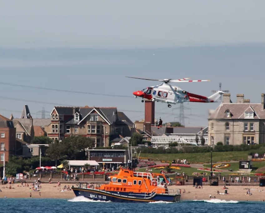 Coastguard and RNLI Weymouth