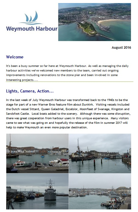 Harbour E-News