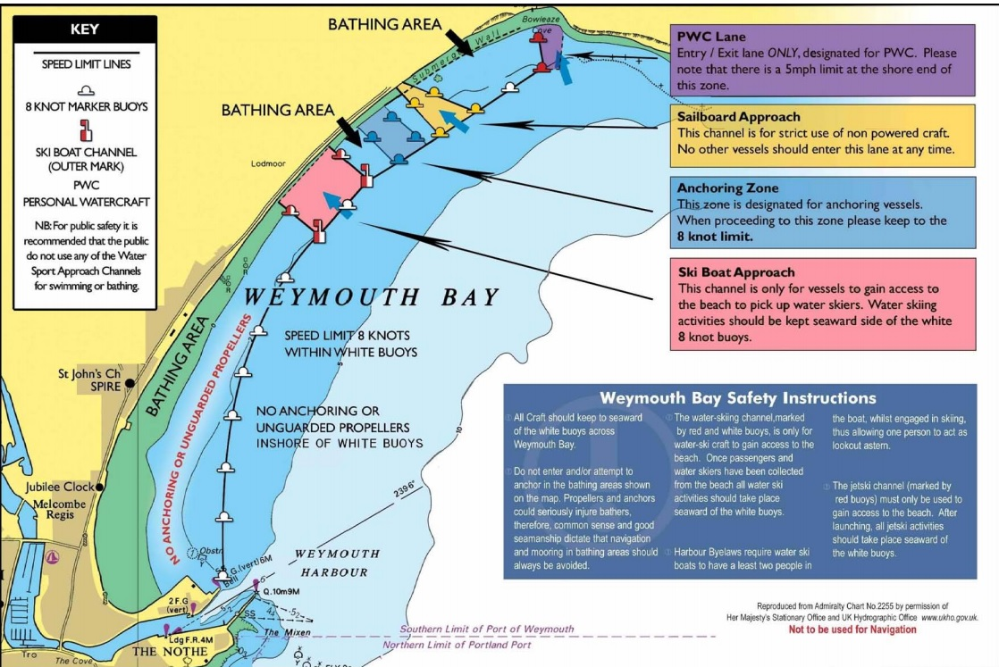 Weymouth Bay Safety Zones